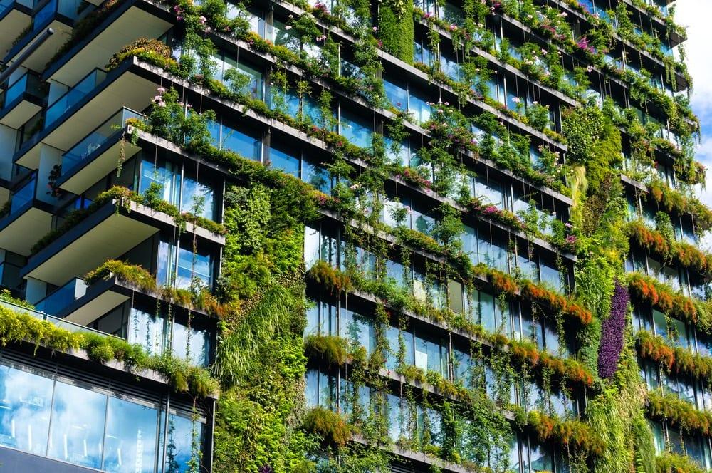 zöld épületek
