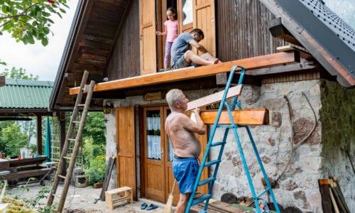 A házfelújításkor a homlokzati szigetelésre is gondolni kell