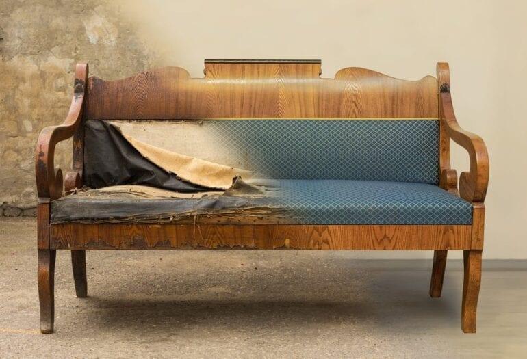 a régi bútorok felújítása nem csupán pénz kérdése