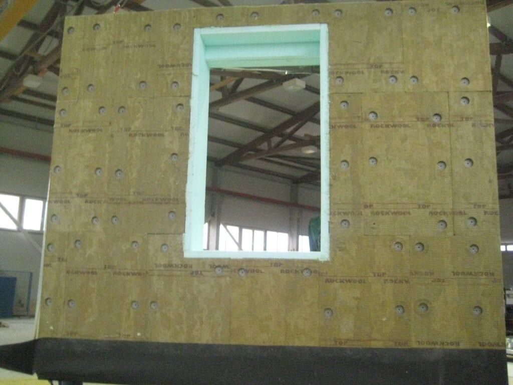 A falpanel fontos eleme a kőzetgyapot hőszigetelés