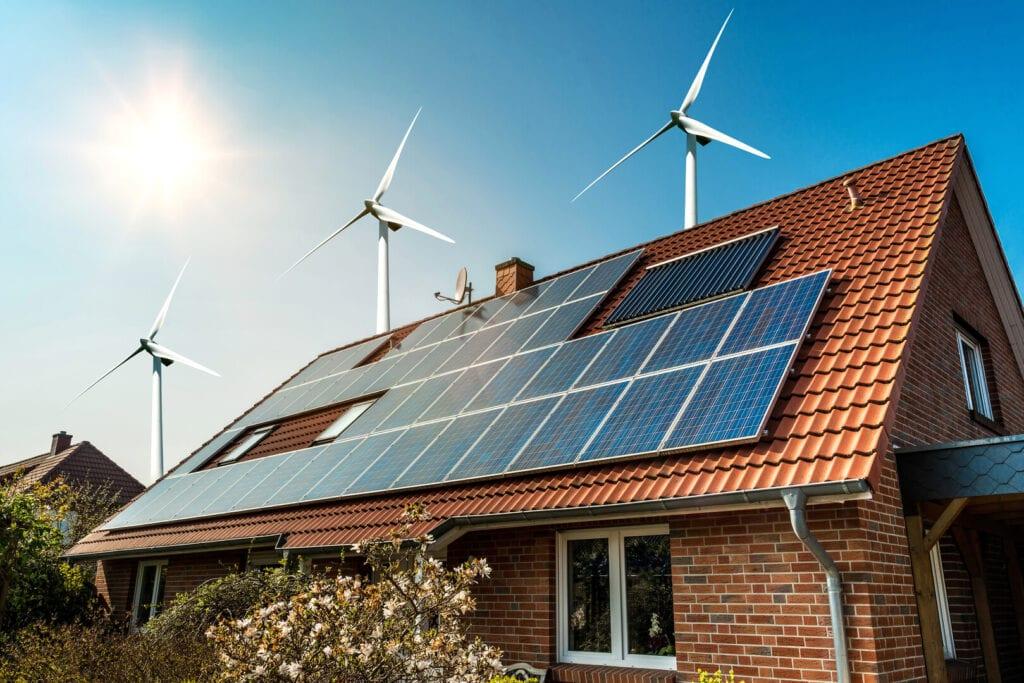 a megújuló energiaforrásoknak egyre több szerep jut