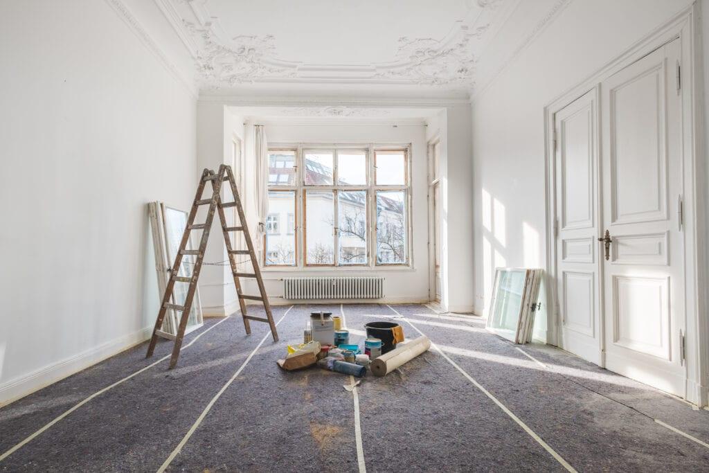 Régi ház felújítása