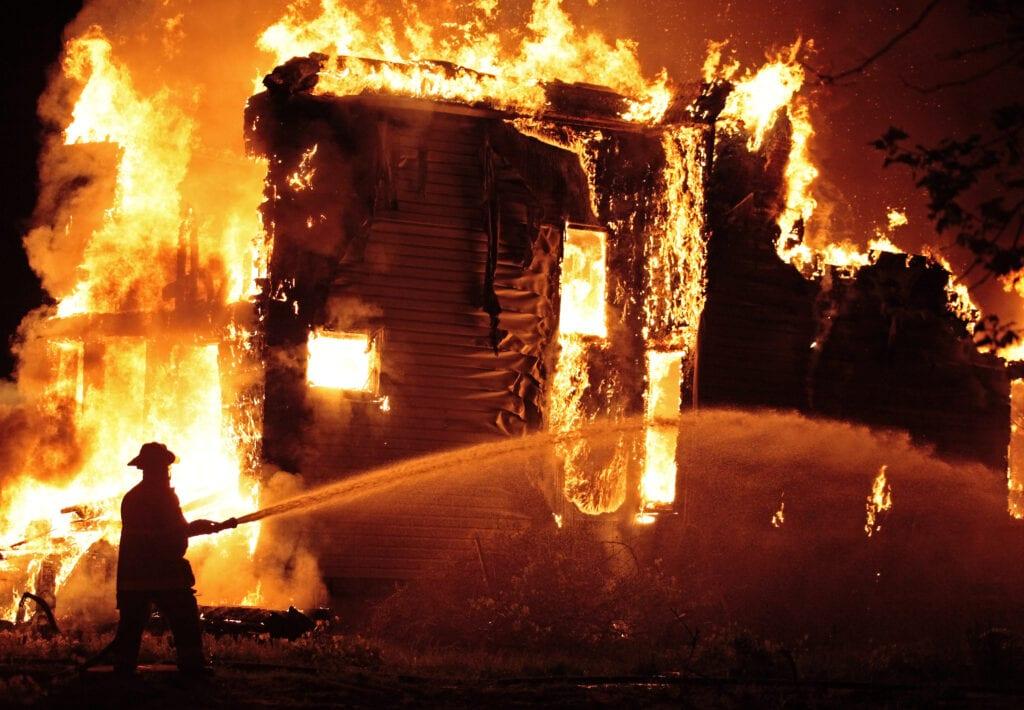 Tűzálló ház